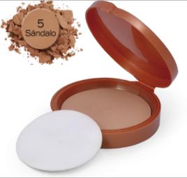 POLVO COMPACTO KALOE # 5 SANDALO 15GR – Farmacia Droguería